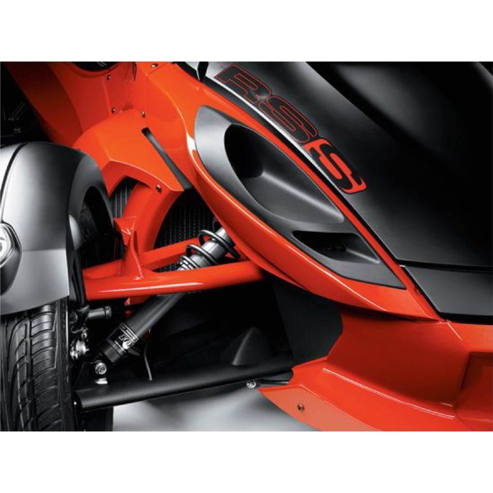 FOX Instelbare Vering & Stabilisatorstang Voorzijde Spyder RS 2011/2012