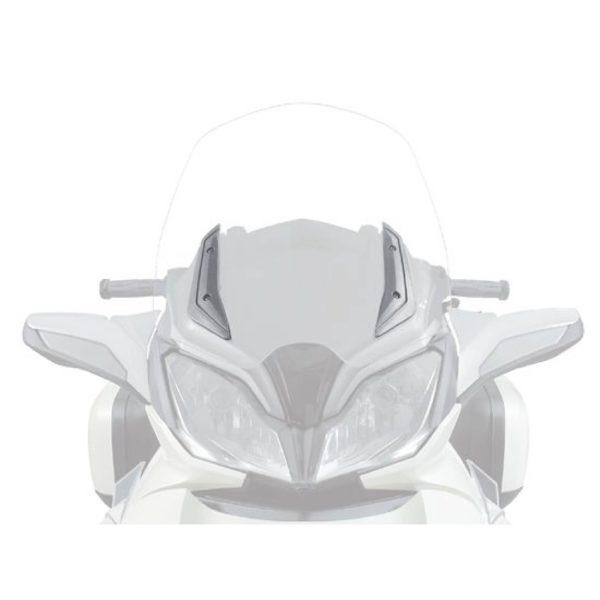 Chrome Sier bevestigingsplaat Spyder F3 & F3-S & ST