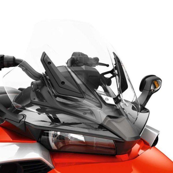 Chrome Sier bevestigingsplaat Spyder F3 & F3-S